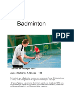 Trabalho Que Nao é Pra Meche Badminton