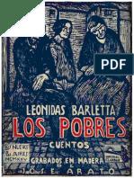Barletta Leónidas - Los Pobres