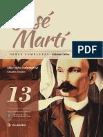 Jose Marti Tomo 13