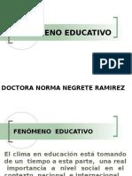 FENÓMENO-EDUCATIVO