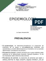 epidemiologia, presentacion