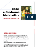 Endocrinologia Aulas Obesidade e Síndrome Metabólica