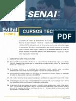Edital Curso Técnico - Eletrotécnica