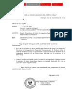Modelo Oficio PNP