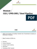 2.1 CPRS, DRS,CGS, Steel Pipeline