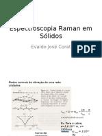 Espectroscopia Raman Em Sólidos