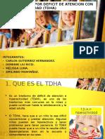 Transtorno Por Deficit de Atencion Con Hiperactividad-2015