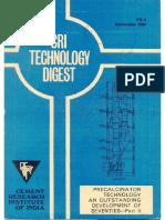 Precalcinator Technology