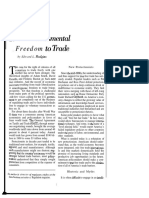 Hudgins Fundamental Freedom to Trade