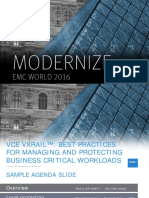 EMCWorld 2016 - VCE VxRail Overview