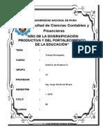 Trabajo de Analisis Bd Facturacion