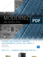 EMCWorld 2016 - VMware on VxRail
