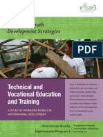 TVET - A Study of Promising Models in International Development
