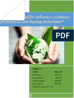Write Up_group-6 _for Does Sustainability Influence Customer Behaviour