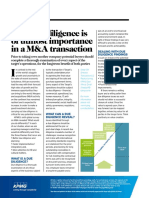 Why Due Diligence is of Utmost Importance in a M_A Transaction