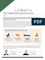 Brexit Impact Financial Services