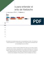 8 Novelas Para Entender El Pensamiento de Nietzsche