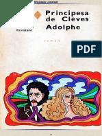 Principesa de Cleves. Adolphe.doc