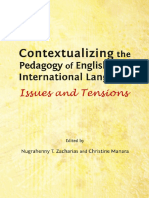 Nugrahenny T. Zacharias, Nugrahenny T. Zacharias, Christine Manara-Contextualizing the Pedagogy of English as an International Language_ Issues and Tensions-Cambridge Scholars Publishing (2013)