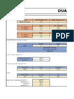 Seismic Analysis of Sturctures - Dual Bracing System 1