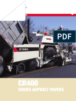 terex cr400 Series Pavers
