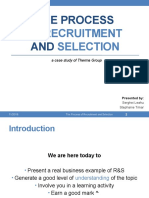 Recruitment and Selection - Presentation