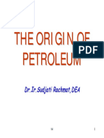 01 Origin of Petroleum