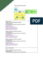 Configuracion Basica Redistribución Rutas LAB1