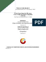 PBL Report Format _2ndyear
