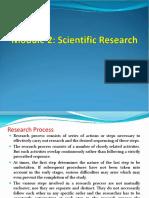 Module 2 - Scientific Research