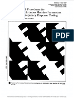 115A-1987 - IEEE Standard Procedures for Obtaining Synchronous Machine Parameters by Standstill Frequency Response Testing
