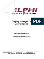 Display Manager User Manual