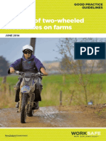 Safe Use of Two Wheeled Motorbikes on Farms