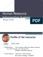 Human Resorce information system presentation