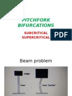 Pitchfork Bifurcations