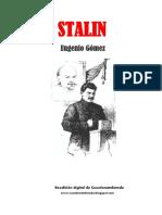 Stalin, de Eugenio Gomez
