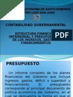 ESTRUCTURA FINANCIERA PATRIMONIAL Y PRESUPUESTARIA DE LOS INGRESOS, GASTOS Y FINANCIAMIENTOS