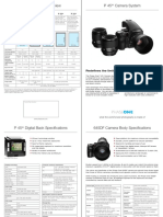 Phase One 645DF P45 p Datasheet English