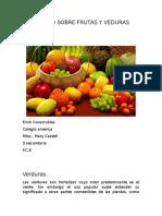 Trabajofrutas y verduras