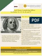 Chartered Anti Money Laundering Officer