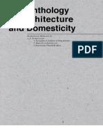 The Anthology of Domesticity