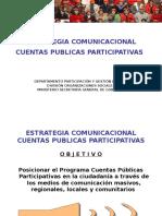 Estrategia Comunicacional Cuentas Publicas Participativas