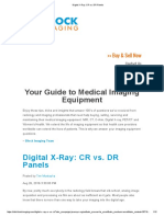 Digital X-Ray CR vs DR (Blockimaging