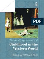 The Routledge History of Childhood in the Western World p