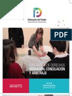 Guía Básica sobre Mediación y Arbitraje de la Defensoría del Pueblo porteña