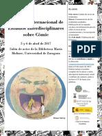 Congreso Internacional de Estudios Sobre Cómic_Cartel_Definitivo