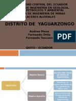 Distrito de Yaguarzongo