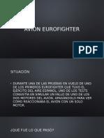 Avión Eurofighter Presentacion