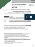 Classificação Dos Tumores Hematopoéticos e Linfoides