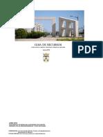 Guia de Recursos de Intervencion Social en Drogas. 2010